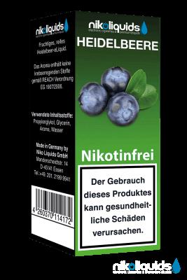 Nikoliquids Heidelbeere