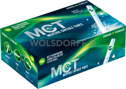 MCT Hülsen mit Mentholkapsel 100er