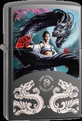 Zippo 60003474 #150 Anne Stokes Lady/Dragon