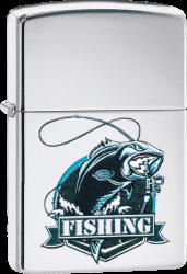 Zippo 60004092 #250 Perch Fishing Rod Design