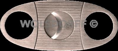 Zigarrenabschneider chrom satin 22mm