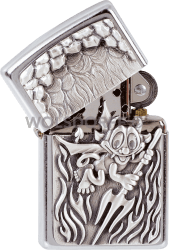Zippo 1330050 #207 Devil Emblem