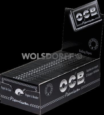 OCB schwarz Premium kurz No 4 100 Blatt
