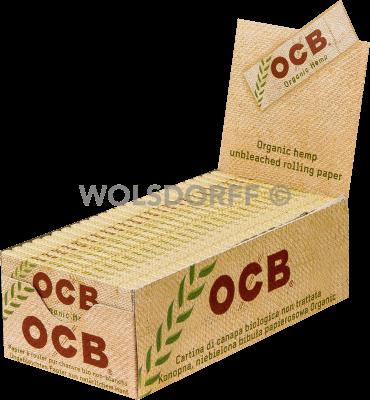 OCB Organic Hemp 50 x 50 Blatt kurz