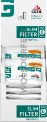 Gizeh Slim Filter Menthol 120er