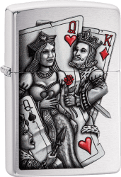 Zippo 60003351 #200 King and Queen