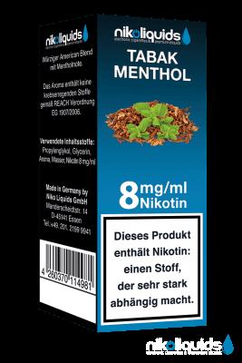 Nikoliquids Tabakmenthol