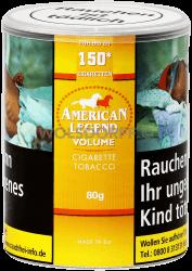 American Legend Volumentabak 80 g