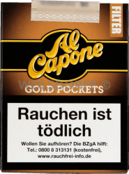 Al Capone Pockets Gold Filter 10er