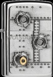 Zippo 2004519 #200 Bullet Holes