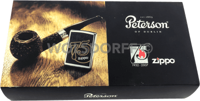 Zippo 75th Peterson Pipe Set
