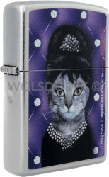 Zippo 810678 Pets Rock Cat A. Hepburn
