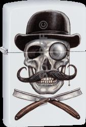 Zippo 60004113 #214 Skull and Razors Design