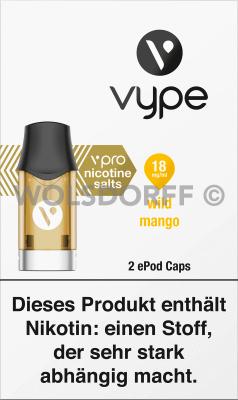 Vype ePod Caps vPro Wild Mango 2er