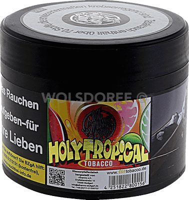 187tobacco Wasserpfeifentabak #039 Holy Tropical