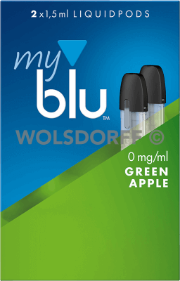 myblu Liquidpod Green Apple