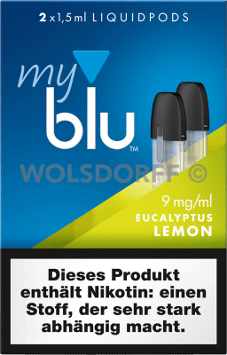 myblu Liquidpod Eucalyptus Lemon
