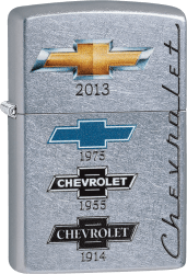 Zippo 60000438 #28846 Chevrolet® Logos