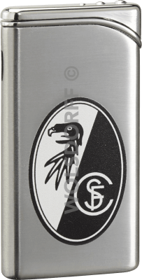 Feuerzeug Tempo chrom matt SC Freiburg