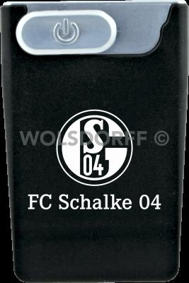 USB Card Lighter schwarz FC Schalke 04