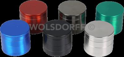 Grinder Metall 4-teilig farbig Ø50mm/H42mm