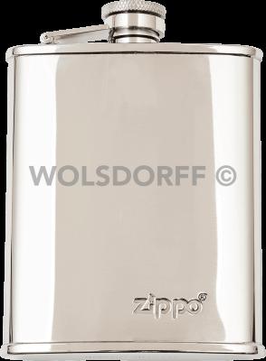Zippo 2005268 Flachmann Edelstahl