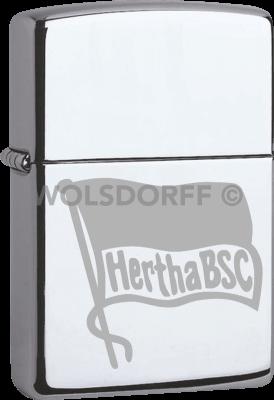 Zippo Chrom poliert Hertha BSC Berlin