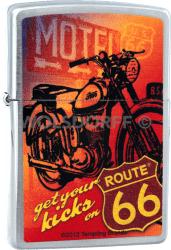 Zippo 810734 Route® 66 Motorcycle