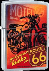 Zippo 810734 Route® 66 Motorcycle
