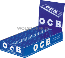 OCB blau Blättchen 25 x 50 Blatt