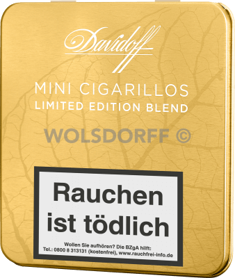 Davidoff Mini Cigarillos Gold Limited Edition 2016 10er