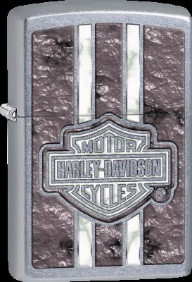 Zippo 60003121 #207 Harley-Davidson® Purple