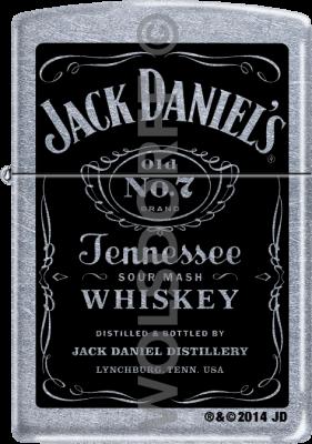 Zippo 60001202 #207 Jack Daniel's® Old No. 7