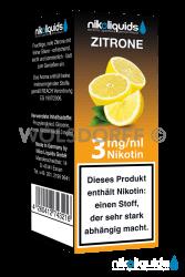 Nikoliquids Zitrone