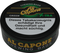AL Capone Chewing Tobacco Green X-tra