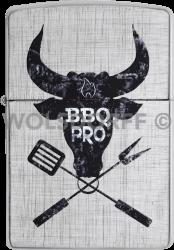 Zippo 60003854 #28181 Grilling Cow Design