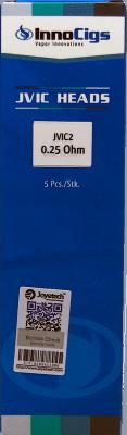 InnoCigs JVIC2 Heads 0,25Ohm 5er