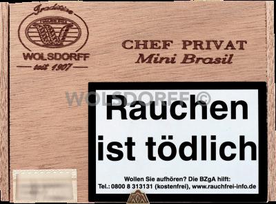 Chef Privat Mini Brasil 50er