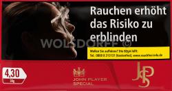 JPS Red Cigarette Tobacco Pouch 10 x 30 g