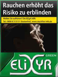 Elixyr Green Cigarettes XXXL (8 x 28)