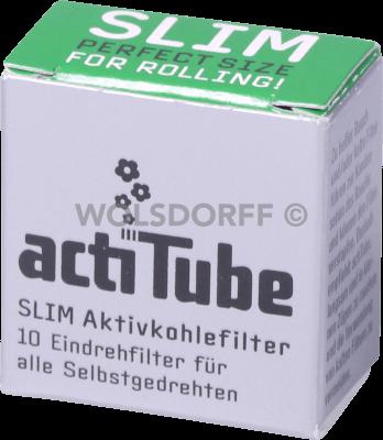 actiTube Slim Aktivkohlefilter 6,9mm