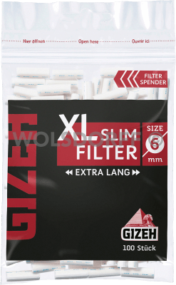 Gizeh Black XL Slim Filter