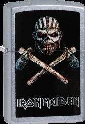 Zippo 60003142 #207 Iron Maiden Cross Axe