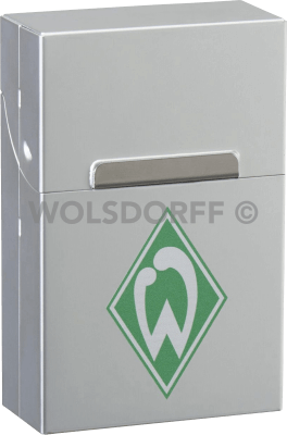 AluBox chrom Werder Bremen