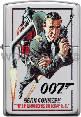 Zippo 60003908 #250 James Bond 007™ Sean Connery