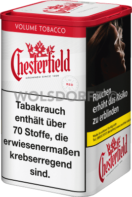 Chesterfield Red Volume Tobacco XL Dose 115 g