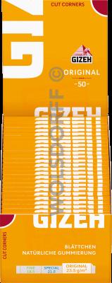 Gizeh Gelb Blättchen 50 Blatt
