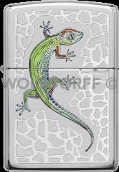 Zippo 60003870 #250 Gecko on Rocks