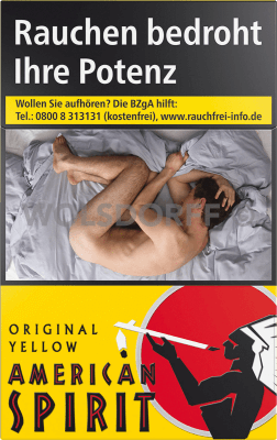 American Spirit Yellow Original Pack (10 x 20)