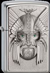 Zippo 2003534 #250 Green Eyed Viking Emblem